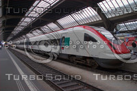 SWISS IC 2000 INTERCITY HIGH SPEED TRAIN