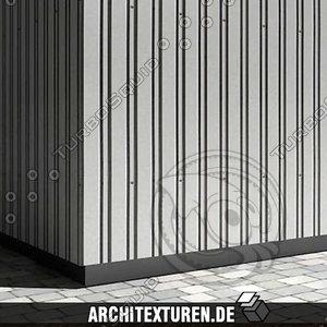 Profiled sheeting #01 - metal