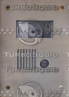 Intercom box texture