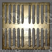 Dirty Brass Grille