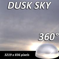 Dusk Summer Sky