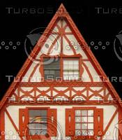 Gingerbread facade Texture