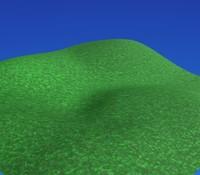 non-seamless grass