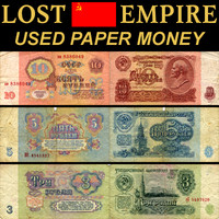 Lost Empire used paper money