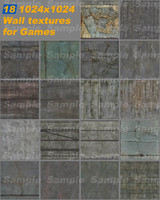 Games Wall textures pack 1