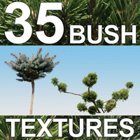 35 Bush Textures - Vol. 2