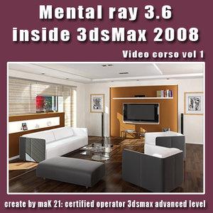 Video Workshop Mental ray 3.6 vol.1 English