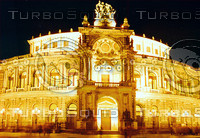 THE LIGHTS OF DRESDEN OPERA HOUSE