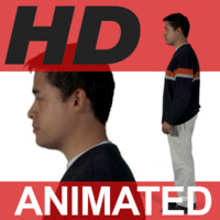 High Definition Animated People Textures - HD Dave Casual