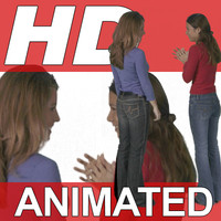 High-Definition-Animated-Person-Textures-HD GroupD Casual