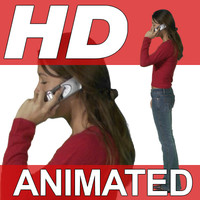High Definition Animated People Textures - HD Patsy Casual