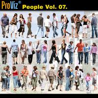 3dRender Pro-Viz People Vol. 07