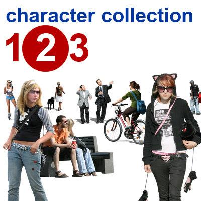 character collection 123 II