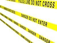Crime Scene Tape Texture