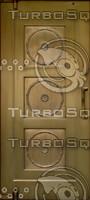 Gold Door Texture