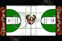 Deer Basketball Floor Design