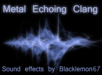 Metallic echoing Bang