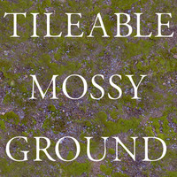 Mossy Ground Tileable Texture