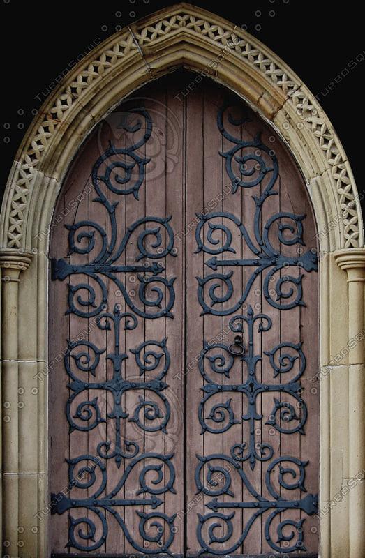 Wood Entrance Gates
