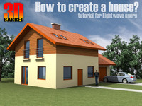 3Dbarrel tutorial - How to create a house?