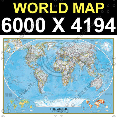 World map collection.