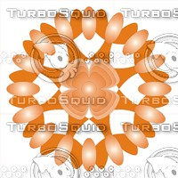 orange ornament 2500 x 2500