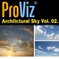 3dRender Pro-Viz Architectural Skies Vol. 02