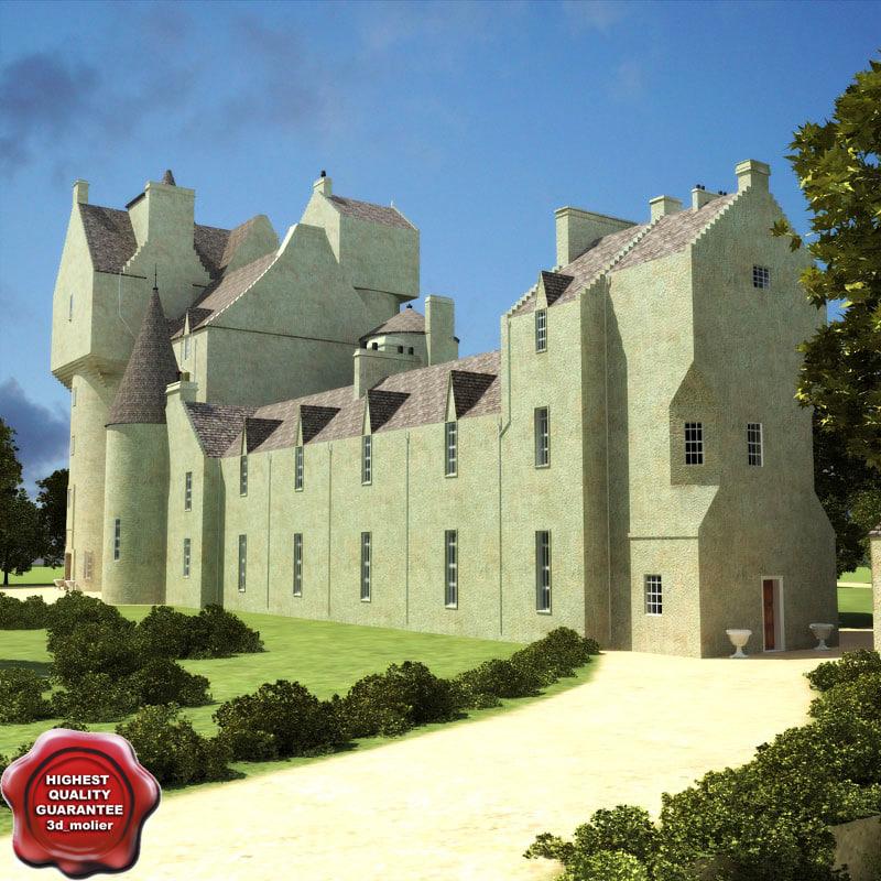ballindalloch castles 3d model