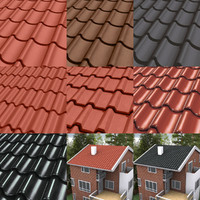 Rooftiles Tileable Texture Bundle