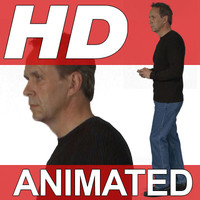 High Definition Animated People Textures - HD Dick Casual