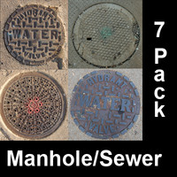 Manhole Covers and Sewer / Utilities Coverings