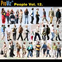 3dRender Pro-Viz People Vol. 12