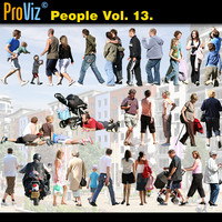 3dRender Pro-Viz People Vol. 13
