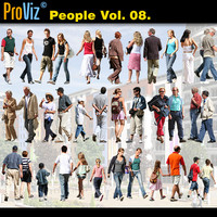 3dRender Pro-Viz People Vol. 08