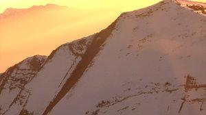 Mountain Side Sun