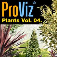 3dRender Pro-Viz Plants Vol. 04