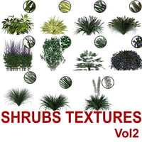 Cut-out Shrubs Vol2