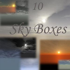 10 Sky Cube Maps