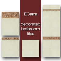 Bathroom italian tiles set