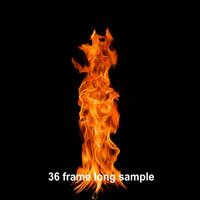 Campfire footage [looping]