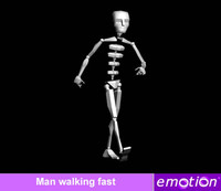 emo0007-Man walking fast