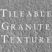 Tileable Granite Stone Texture