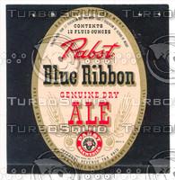 PBR beer Label