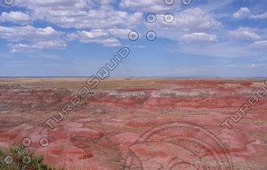 Painted desert photo