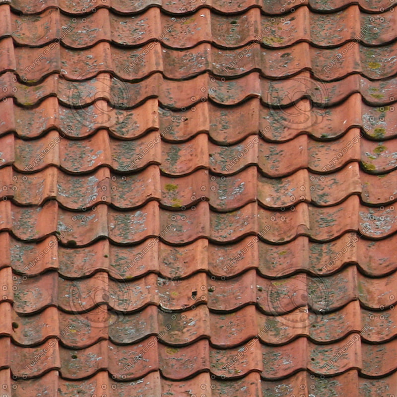 Texture Jpg Roof Red Old