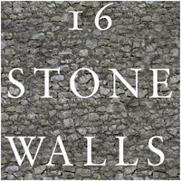 16 Tileable Stone Wall Texture Set