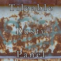 Tileable Rusty Panel Texture
