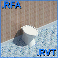 revit plumbing fixtures closet 3ds