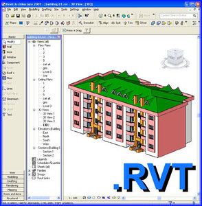 3d model revit house