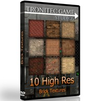 10 High Res Brick Textures
